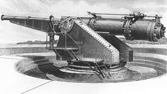 Fort H. G. Wright - Image: Zalinski dynamite gyn drawing