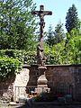 Zell a.H., Christus am Kreuz hinter der Wallfahrtskirche 1.jpg