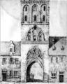 Zew.BramaSwidnicka.rys.Heinrich.Julius.Adolf.Muetzel.1824.png