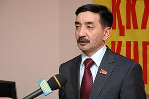 Communist People's Party of Kazakhstan - Secretary of the Central Committee Zhambyl Akhmetbekov.