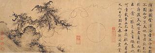 Zhu Derun Chinese painter