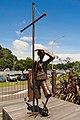 """Kiwi Boy"" sculpture by James Pickernell (2013) - Whakatane, New Zealand.jpg"