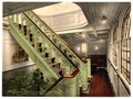 """Konig Albert,"" staircase, North German Lloyd, Royal Mail Steamers-LCCN2002720830.tif"