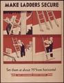 """""""Make ladders secure"""" - NARA - 514957.tif"""