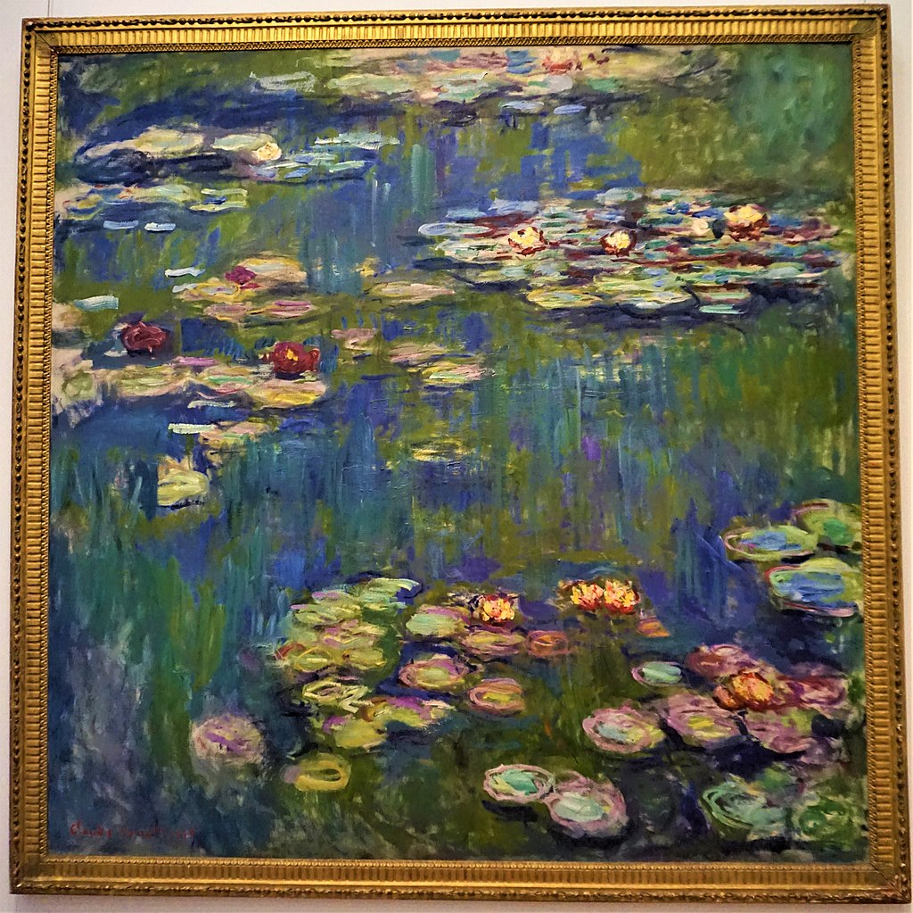 """Water Lilies"" by Claude Monet (National Museum of Western Art, Tokyo)"