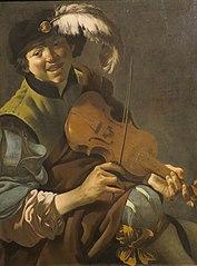A Boy Violinist