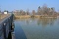 'Inseldorf' Rapperswil-Jona-Technikum beim Heilighüsli, Ansicht von der Holzbrücke 2013-02-25 14-12-27 (P7700).JPG