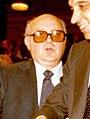 (Antonio Jiménez Blanco) Adolfo Suárez felicita al ministro de Trabajo. Pool Moncloa. 10 de marzo de 1980 (cropped).jpg