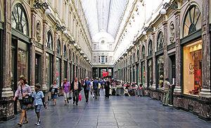 Galeries Royales Saint-Hubert - Image: (Belgium) Galeries Royales St Hurbert, Brussels
