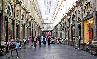 Consumer behaviour - The Galeries Royales Saint-Hubert shopping arcade in Belgium. Consumer behaviour, in its broadest sense, is concerned with how consumers select and use goods and services.