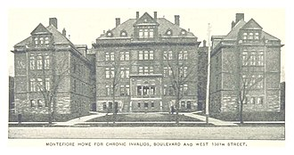 Montefiore Medical Center - Home for Chronic Invalids, Ca. 1890