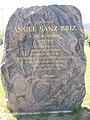 Ángel Sanz Briz memorial stone, 2016 Aquincum.jpg