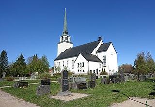 Ähtäri Town in Southern Ostrobothnia, Finland