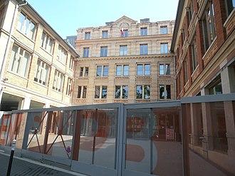 École Nationale Supérieure d'Architecture de Paris-Belleville - Ecole Nationale Supérieure d'Architecture de Paris-Belleville, 2013 - 60 boulevard de La Villette (19th)