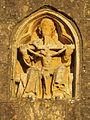 Église Sainte-Trinité de Teurthéville-Bocage - Haut-relief de la Trinité.JPG