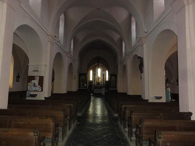 Étréaupont (Aisne) Église Saint-Martin, intérieur