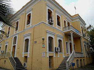 İstiklal, Seyhan - Former Greek Mansion, now İstiklal Middle School
