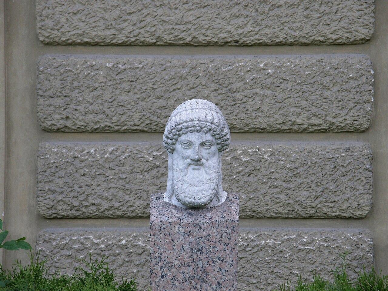 Łańcut palace - Hermes head.jpg