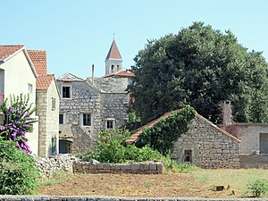 Grohote - Image: Šolta Grohote Hrvatska Häuser 2012 e