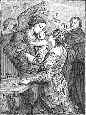 Znalezione obrazy dla zapytania świętej Cecylii, panny i Męczenniczki
