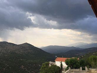 Drakovouni - Image: Δρακοβούνι Άγιος Δημήτριος