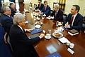 Συνάντηση Υπουργού Εξωτερικών Ν. Κοτζιά με Αντιπροσωπεία του αλβανικού κόμματος DUI της πΓΔΜ, υπό τον Πρόεδρό του Ali Ahmeti (23880036009).jpg