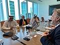 Συνομιλίες ΥΠΕΞ Γ. Κατρούγκαλου με Υπουργό Βιομηχανίας & Εμπορίου και Τουρισμού του Μπαχρέιν (48053836268).jpg