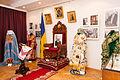 Виставка пам`яті Блаженнішоо Митрополита Мефодія в Тернополі. Облачення і горний престол.JPG