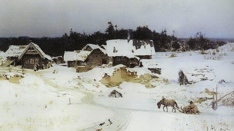 File:В. Д. Поленов. Зима. Имоченцы. 1880.jpg