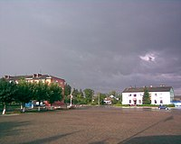 Дощ пройшовся по вулицях Сарн.jpg