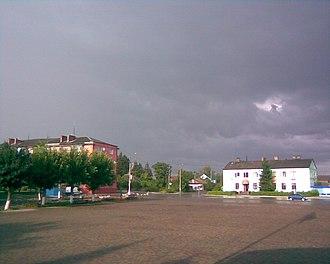 Sarny - Central part of Sarny