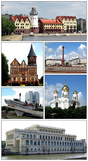 """""""Fishing village"""" neighborhood in German style; <a href=""""http://search.lycos.com/web/?_z=0&q=%22K%C3%B6nigsberg%20Cathedral%22"""">Königsberg Cathedral</a>; Victory Square; Monument to Baltic Seamen; Church of Christ the Savior; Seamen's <a href=""""http://search.lycos.com/web/?_z=0&q=%22Palace%20of%20Culture%22"""">Palace of Culture</a>"""