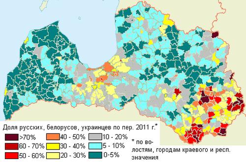 Demographics of Latvia - Wikipedia