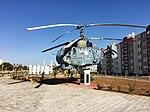 Памятник вертолёту Ка-27 в Мирном, Крым (2018).jpg