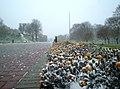 Першы снег зімы 2012-2013 у крэпасці - panoramio.jpg