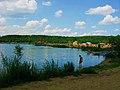 Подмосковная Швейцария, пляж на карьере в Лыткарино, Московской обл., Russia. - panoramio.jpg