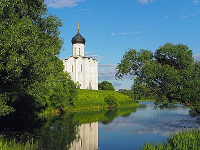 Church of the Intercession on the Nerl, Summer 2015