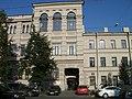 Флигель, Здания, в которых в 1885-1918 гг. находились Высшие женские (Бестужевские) курсы; Санкт-Петербург.jpg