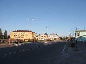 Korets - Image: Центральна площа Корця