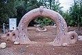 השער לשביל ישראל בחצר בית אוסישקין.jpg