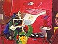 משה רוזנטליס. סטודיו מול ים באדום. 1983.jpg