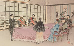 Treaty of Shimonoseki - Signing of Treaty of Shimonoseki