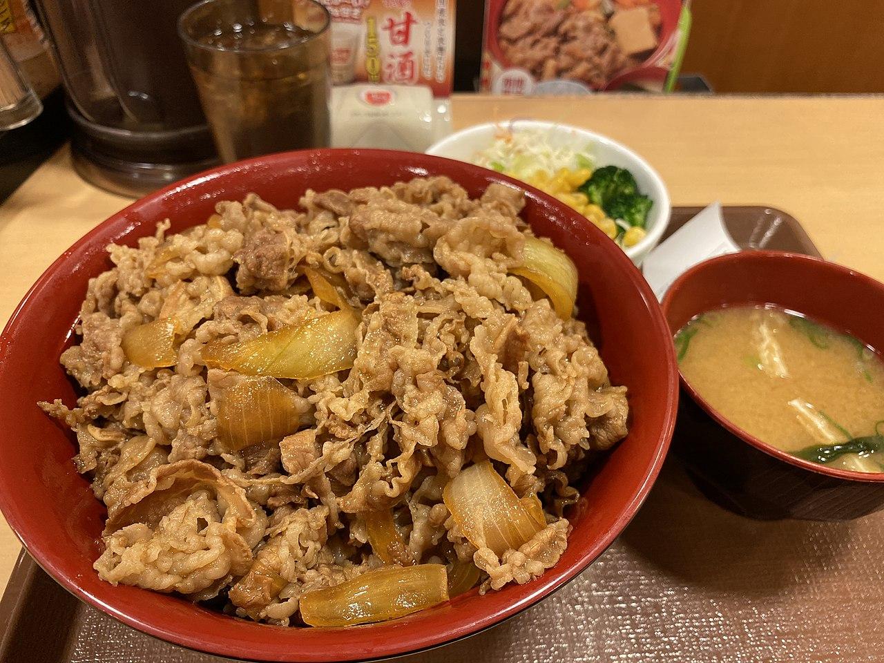 すき家 牛 丼