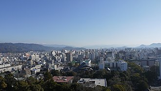 Kōchi Prefecture - Skyline of Kōchi City