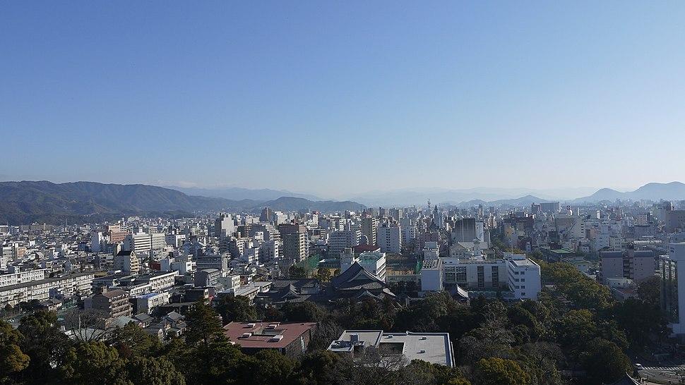 高知城 天守からの景色3 Kochi Castle - panoramio