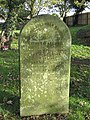 -2019-11-13 Headstone of Edward Allard and his wife Sarah, died 1905 &1874, Trimingham churchyard.JPG