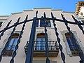 006 Casa Niubò (Mollerussa), façana c. Prat de la Riba.JPG