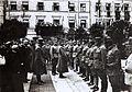 01917 Kaiser Karl I. beim Besuch von Stanislau unmittelbar nach der erfolgreichen Gegenoffensive in Galizien am 29.7.1917,.jpg