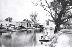 Venustiano Carranza, Mexico City - La Viga canal 1902