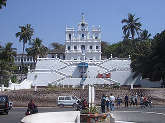 Our Lady of the Immaculate Conception Church, Goa - Image: 0438 Panaji Church of Our Lady of the Immaculate Conception 2006 02 13 13 46 23 (10543370125)